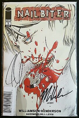 Nailbiter #1 (Image) 2×Signed! With Dynamic Forces Coa! Nm