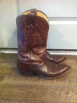 Mens Nocona boots Size 10 Made In USA Brown