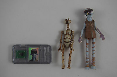 Star Wars Episode 1: ODY MANDRELL with PIT DROID, Hasbro LOOSE & COMPLETE EP1