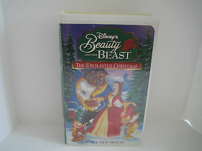 Vhs Disney's Beauty And The Beast The Enchanted Christmas