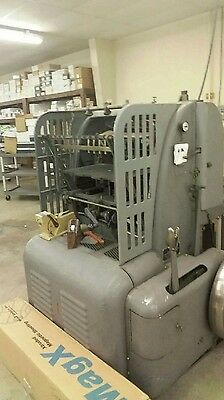 Miehle vertical cyclinder letterpress printing press,