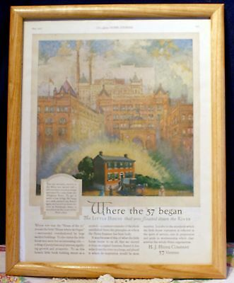 Framed May 1922, Ladies Home Journal Magazine Ad For H. J. Heinz Company