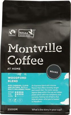 Organic Coffee - Woodford Blend (Beans) 1kg - Montville Coffee