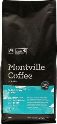 Organic Coffee - Woodford Blend (Plunger) 1kg - Montville Coffee