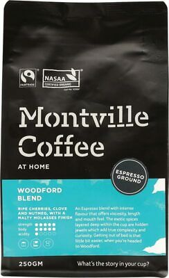 Organic Coffee - Woodford Blend (Espresso) 250g - Montville Coffee
