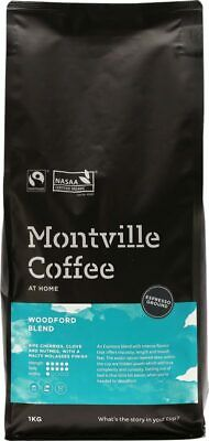 Organic Coffee - Woodford Blend (Espresso) 1kg - Montville Coffee