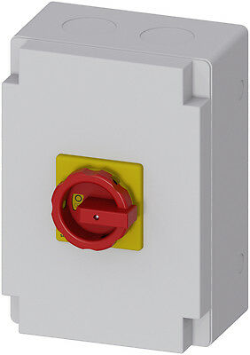 Siemens - 3LD2766-0TB53 SENTRON, 3LD switch disconnector, EMERGENCY-STOP switch,