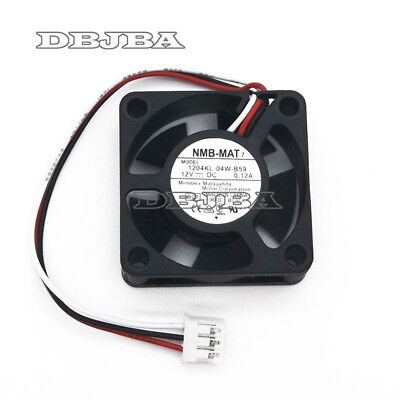 New Fan For NMB NMB-MAT 1204KL-04W-B59 3010 12V 0.12A Router Cooling Fan 3 Wire