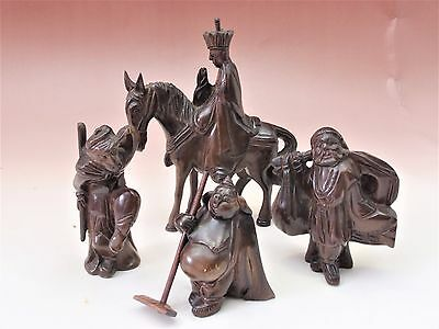 ASIAN ANTIQUE Journey to the West DOLL ORNAMENT 4SET