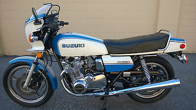 """1979 Suzuki GS1000S """"Wes Cooley"""" Limited Edition, Mint 22k"""