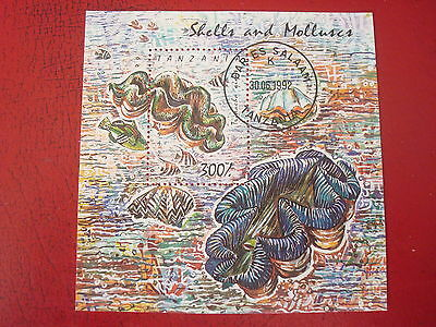 Tanzania - 1992 Shells And Molluscs - Minisheet - Unmounted Used - Ex. Condition