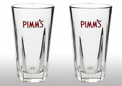 Pimm's Glasses With Pimm's Stirrers X2 New