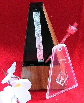 WITTNER - TRADITIONAL METRONOME - DARK OAK FINISHED WOOD ( Made in Germany)