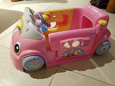 fisher price laugh n learn car