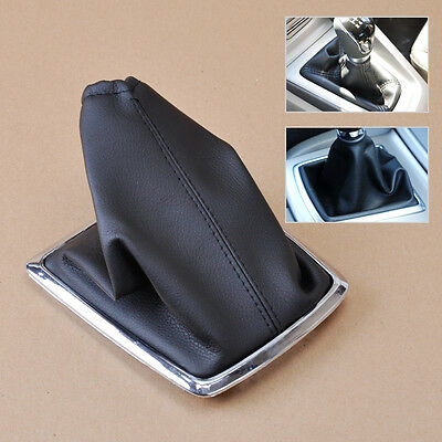 For 2005-2012 Ford Focus - New Black PU Leather Gear Boot Gaiter Cover