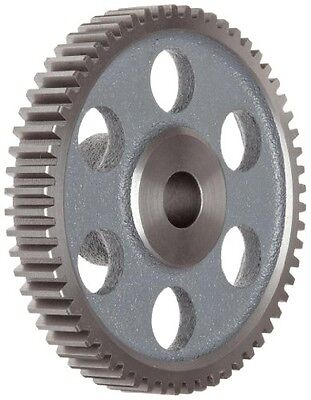Boston Gear ND84 Spur Gear, 14.5 Pressure Angle, Cast Iron, Inch, 12 Pitch,