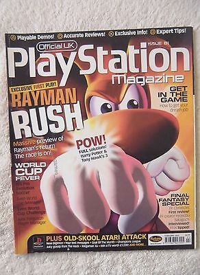 42736 Issue 81 Official UK Playstation Magazine 2002