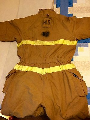 Bodyguard BY Lion Firefighter Coveralls MENS SIZE LARGE GREAT CONDITION