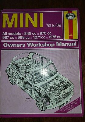 haynes car manual mini