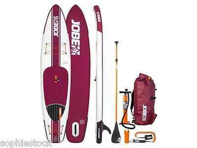 BNWT 2017 Jobe Aero Sup 11.6 Package Inflatable Stand Up Paddle Board Bag Pump