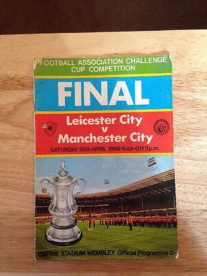 Leicester City V Manchester City Fa Cup Final 1969