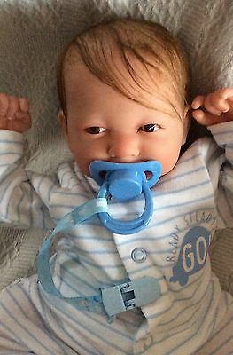 Reborn Berenguer Baby Boy Doll Rooted Hair Unbelievable Bargain