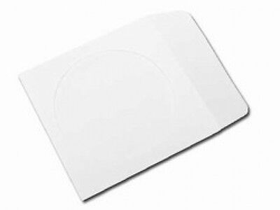 1000 Paper CD Sleeves with Window & Flap