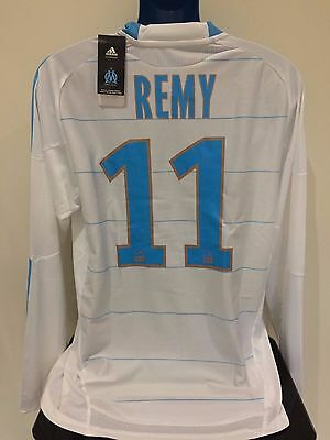 Olympique de Marseille REMY 2010/2011 Home BNWT Football Shirt (XL) Player Issue