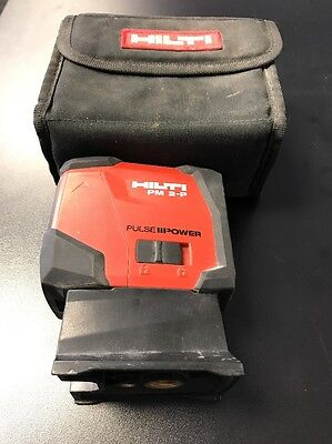 Hilti PM 2-P Pulse Plumb Laser w/Case