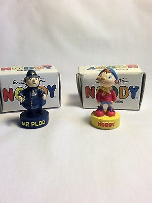 Vintage Noddy And Pc Plods Figures
