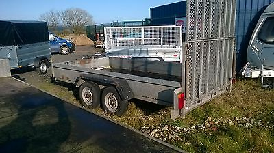 12x6 indespenion tandem axle ramped trailer