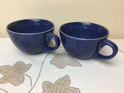 Gourmet's Pride Kalahari Sands Blue 2 x Replacement Cups Only Superb Condition