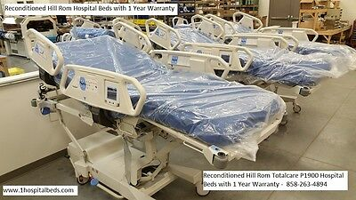 Hill Rom TotalCare P1900 Bariatric Hospital Bed 42 Inch Wide with Chair Position