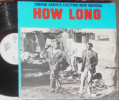 Gibson Kente's Exciting New Musical How Long Lp (Südafrika / South Africa)