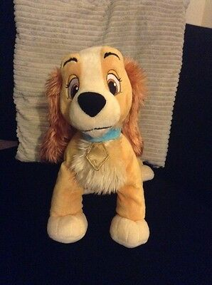 disney store lady from the lady and the tramp film, soft toy