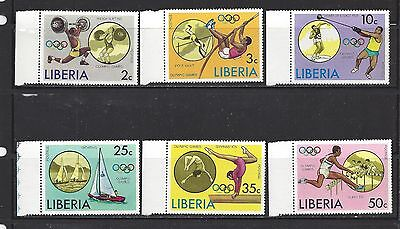 Liberia - 736 - 741 - Mnh - 1976 Issues -21St Olympics, Montreal