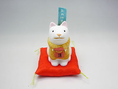 JAPANESE DOG   Ise shrine okageinu Japanese cushion pottery ornament mint