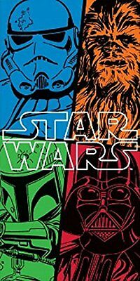 Disney Star Wars The Force Awakens Towel Bath Beach Swimming Holiday Childrens