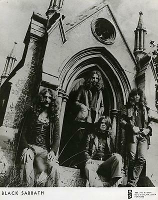 Black Sabbath 8x10 Photo Beautiful Picture #1
