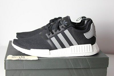 best service 170c3 06102 ADIDAS NMD R1 Runner S31504 Core Black Charcoal Grey White 13 13.5 PK OG  Tri XR1