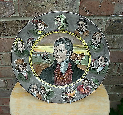Royal Doulton Series Ware 'robbie Burns' Plate