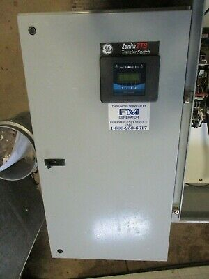 Zenith 150 Amp 277/480 Volt 3 Phase Automatic Transfer Switch- ATS267- NEW