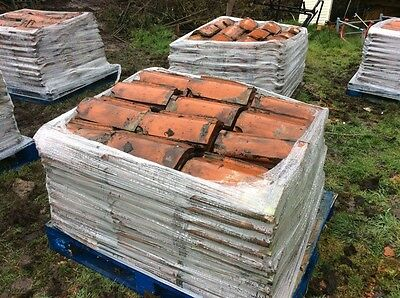 Reclaimed Clay pan roof tiles
