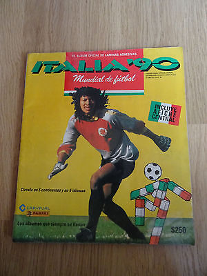 album panini world cup italia 90 1990 édition colombia colombie COMPLET FULL
