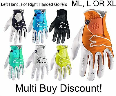 Puma Golf Monoline Cabretta Leather Golf Glove RRP£15 - ML, L & XL - FREE POST