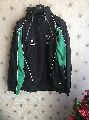Glentoran Football Jacket    Staff Issue     Northern Ireland Football Shirt