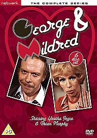 George and Mildred: The Complete Series 1-5 (Box Set) [6 DVD's] New / Sealed
