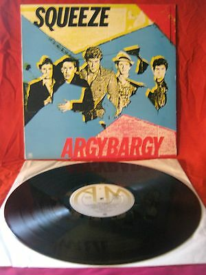 "Squeeze* - Argybargy LP. 12"" Vinyl UK 1980 A1/B1 EX/EX - Rock/Pop/NewWave"