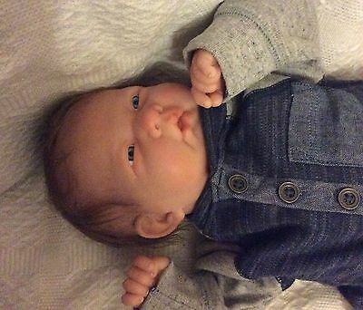 Reborn Berenguer Baby Boy Doll Rooted Hair Unbelievable Value