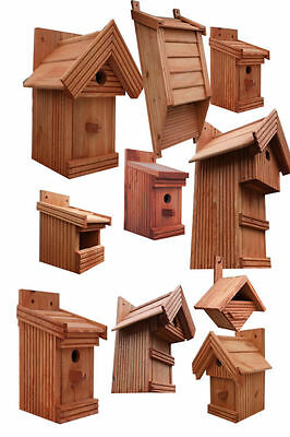 Wooden Garden Nesting Box Bird House, hotel small birds